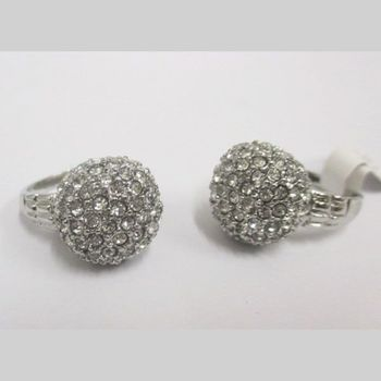 crystal ball ring jewelry