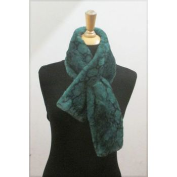 cross scarf prints snake
