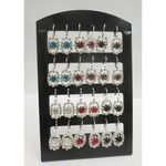 crystal sleeper earring of all colors