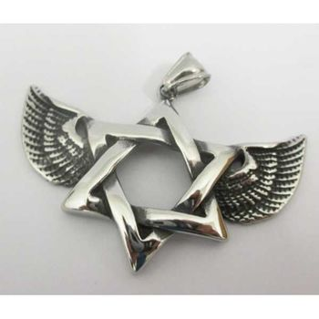 star david wing pendant