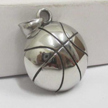 basketball ball pendant