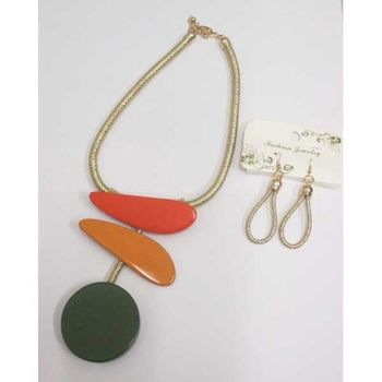 jewelry necklace resin various color