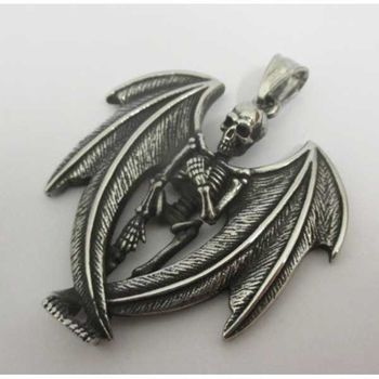 wing skeleton pendant