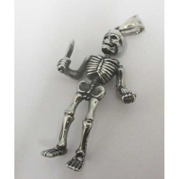 soldier skeleton pendant