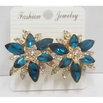 earrings crystal clips at cheap price