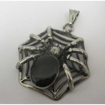 spider pendant in his canvas