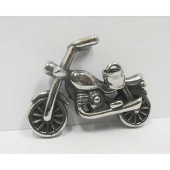 big cylindrical motorcycle pendant