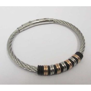 adjustable steel bracelet
