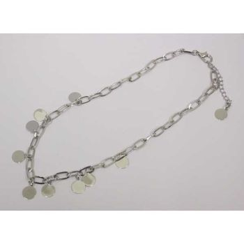 collier pampille argente