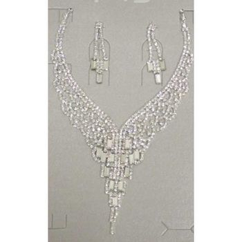 crystal wedding jewelry at a low price