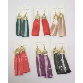 curtain tassel earring