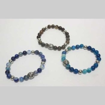 new arrival balloon bracelet steel stone