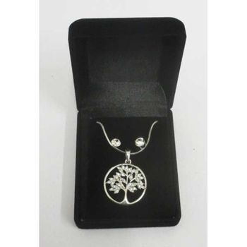 tree of life necklace buckle in velvet casket