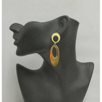 steel earring pendant woman