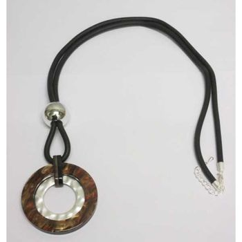 long resin round collar on rubber