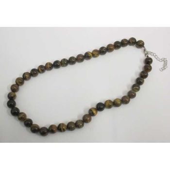 tiger eye protection necklace