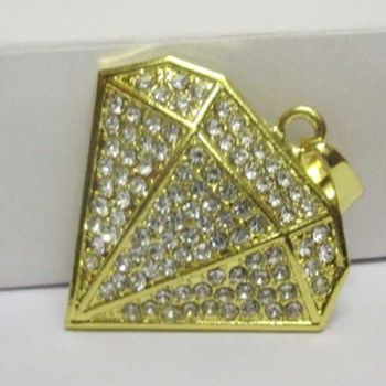 diamond symbol pendant