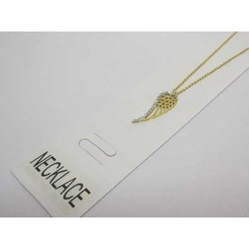 wing angel steel pendant