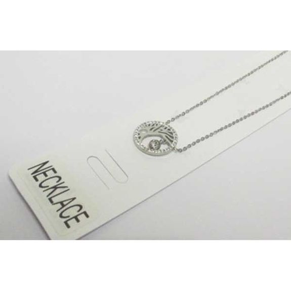 pendant tree of life drop necklace