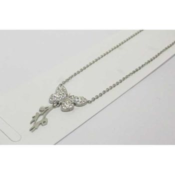 jewelry steel pendant butterfly flying