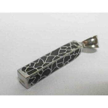 rectangular stick tube pendant