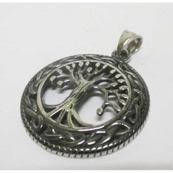 tree of life pendant tracery circle