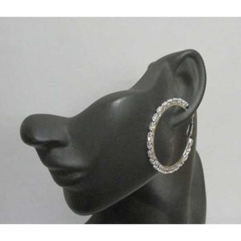 crystal hoop earrings jewelry