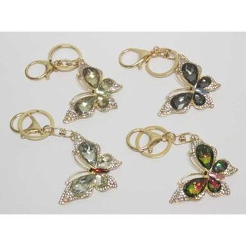 jewelry to give butterfly keychain