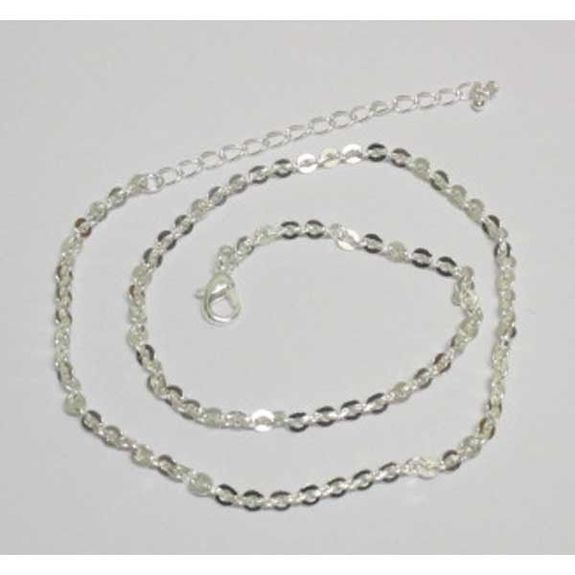 silver chain sold alone to make necklaces
