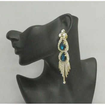 non pierced earring ceremonial suite crystal