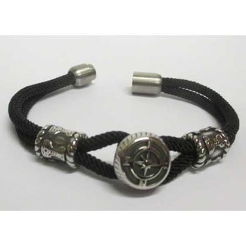north star bracelet magnetic steel cord