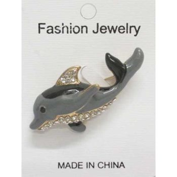 whale brooch jewelry