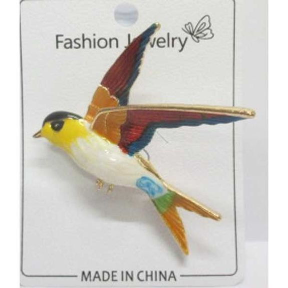 flying swallow brooch jewelry