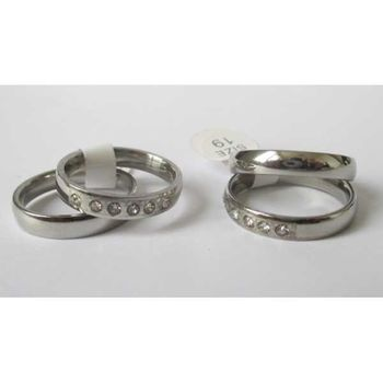 single ring and crystal ring