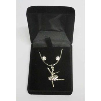 jewelry pendant ballerina in its case