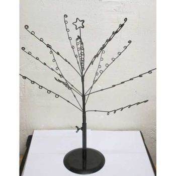 black tree shape display for jewelry