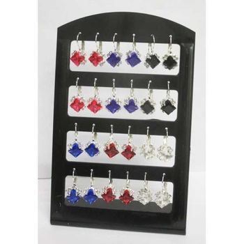 crystal diamond sleeper earring