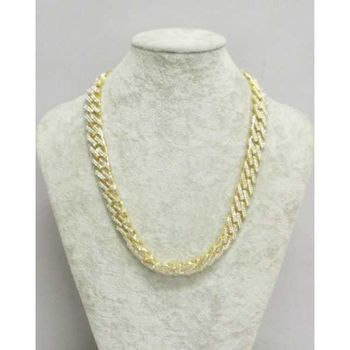 cuban diamond chain