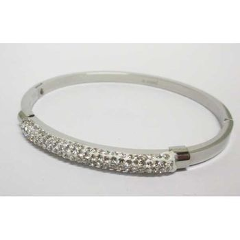 rigid steel bracelet