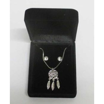 Dreamcatcher pendant jewelry in box