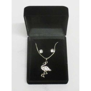 Flamingo pendant jewelry