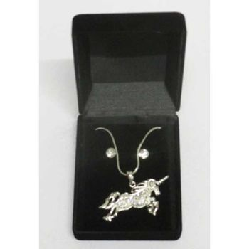 unicorn pendant jewelry in box