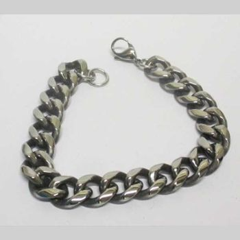 cuban mesh bracelet without crystal