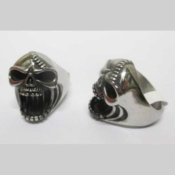 skull bottle opener ring