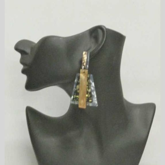 Wear jewelry earrings resin