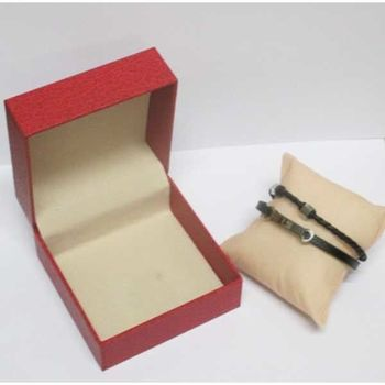 steel leather key bracelet jewelry sold in its box