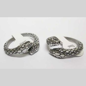 snake head double ring