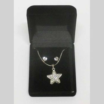 crystal star pendant jewelry