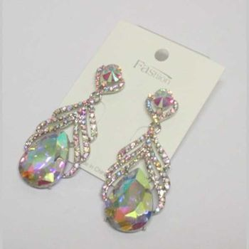 drop earring wedding