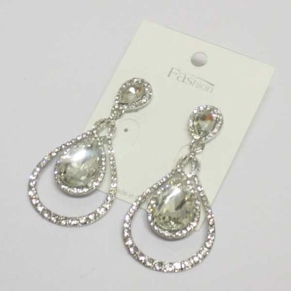 offer crystal wedding earrings to your clients